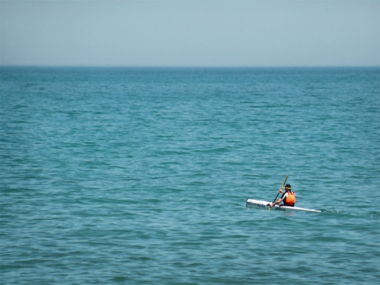 Kayaker 15MAY2013 Sherwin Beach